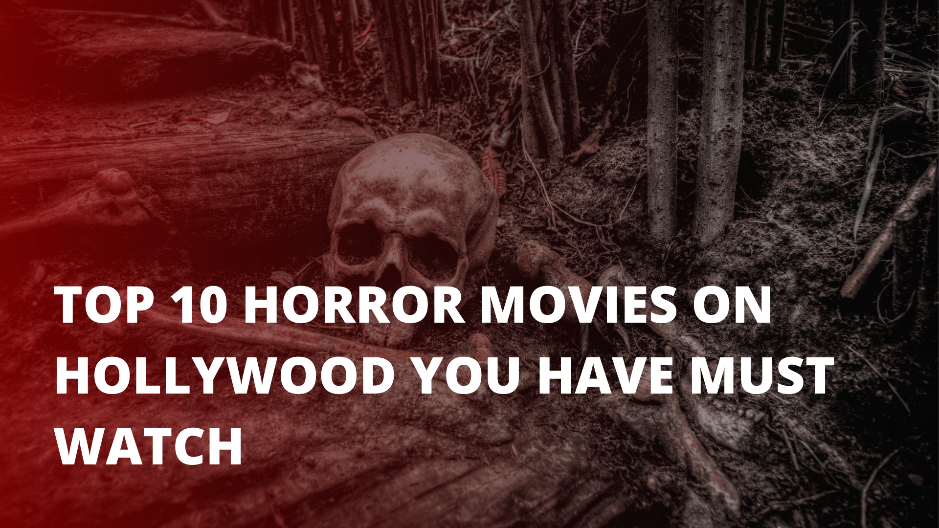 Top 10 horror movies on Hollywood you have must watch