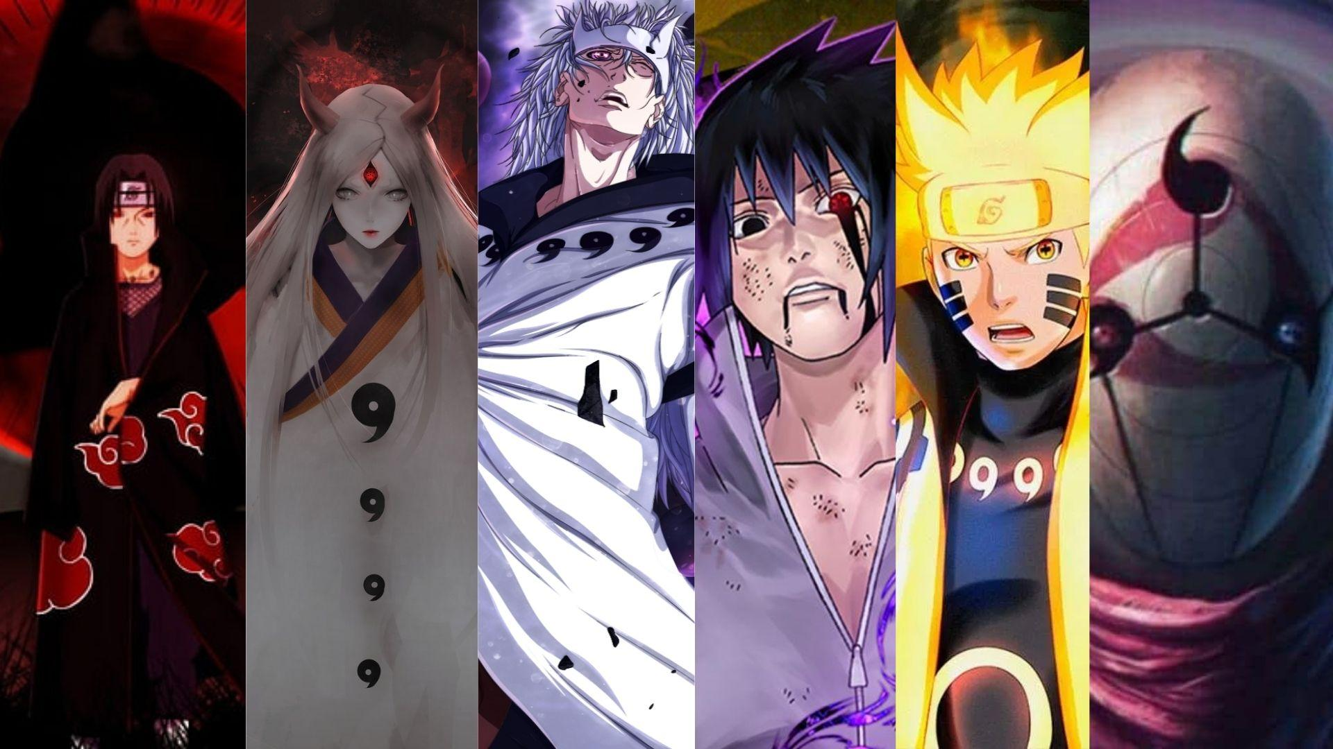 Strongest character in Naruto in Naruto Shippuden characters